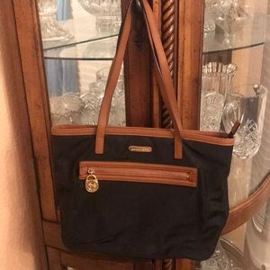 Michael Kors nylon black bag preowned